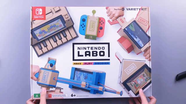 开箱!这个游戏机是用纸折出来的!