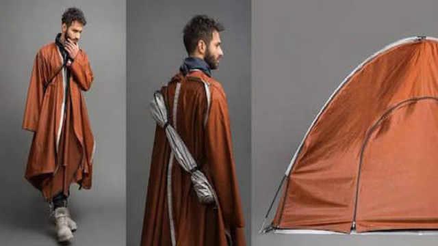 鬼才设计师:专门给难民设计的衣服