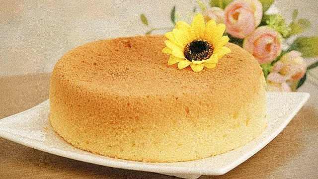 电饭锅做蛋糕,原来这么简单