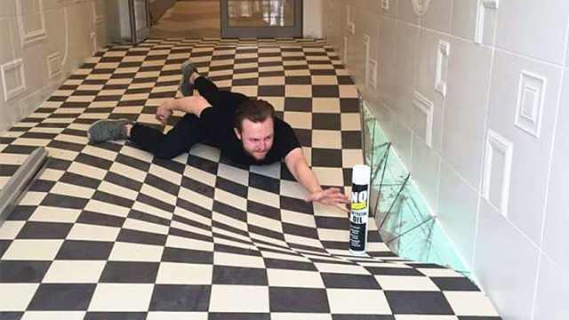 创意3D走廊,获英国年度大奖