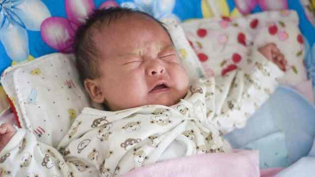 5种哭声说明宝宝生病了!