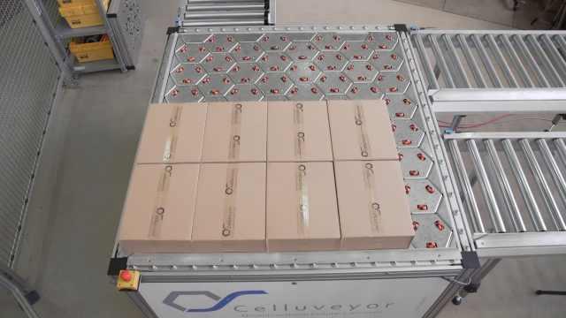全方位传送机能够调整包裹方向
