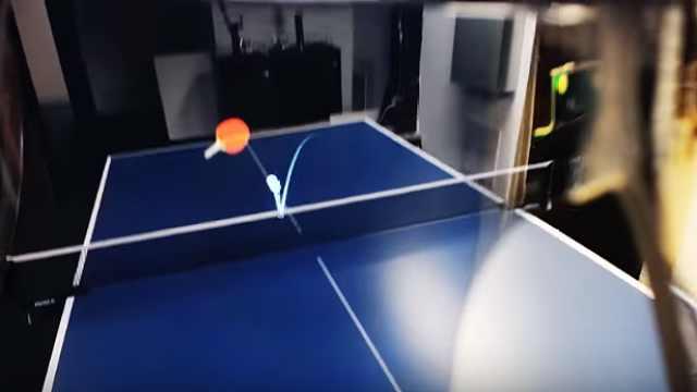 炫酷!利用ar技术和人工智能打乒乓