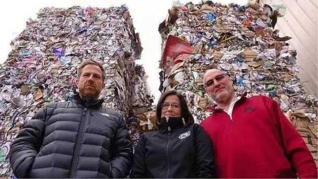 为什么中国要进口外国的垃圾?