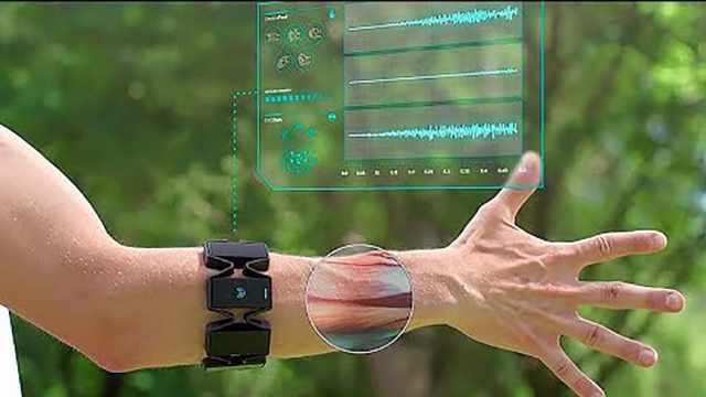 这款智能手环居然能隔空控物?