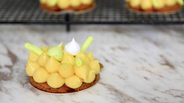 香茅柠檬塔:低温慢煮,慢慢萃