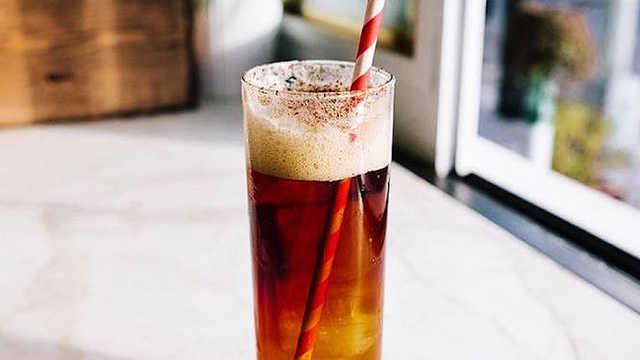 咖啡新喝法:苏打水加咖啡