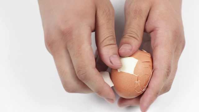 超方便3秒剥鸡蛋,秒变生活达人