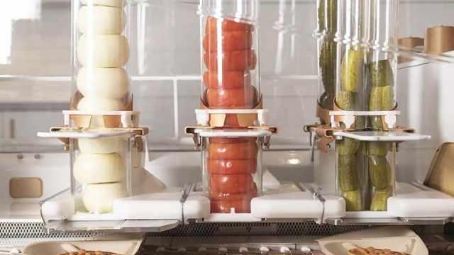 硅谷打造全球首家机器人汉堡餐厅