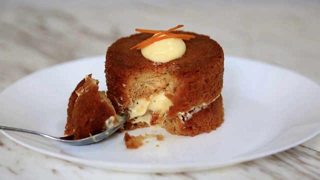 巴巴蛋糕:法式传统小食