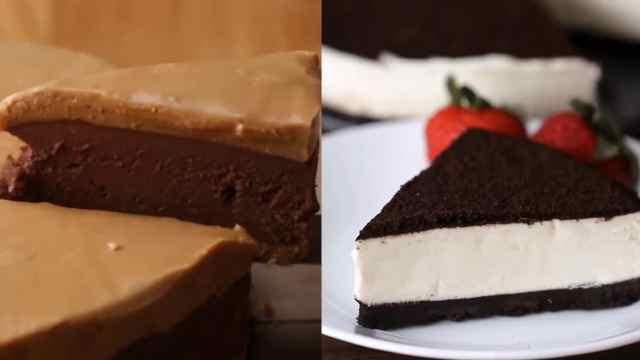 吃货福利!不需烘烤的2款奶酪蛋糕