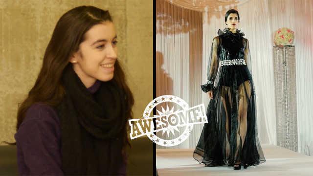 英国女孩香奈儿16岁震撼国际时尚界