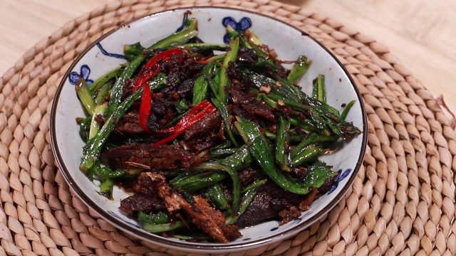 美味的豆豉鲮鱼油麦菜,你会做吗