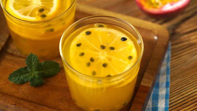 白成一道光!柠檬百香果最佳吃法