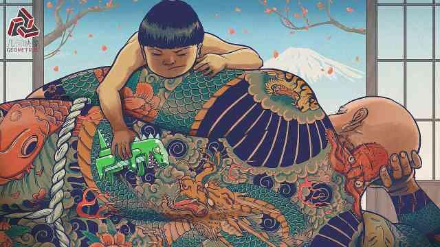 波兰插画师,作品却满是东方色彩