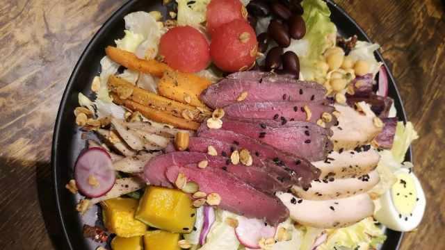 爱上这家沙拉,好吃又不胖