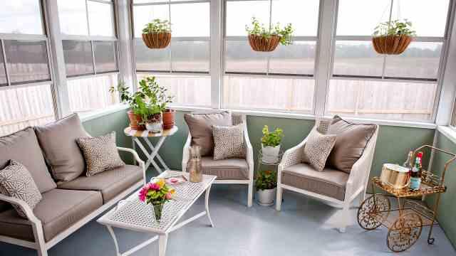 阳台装修的功能性和美观性都要兼具