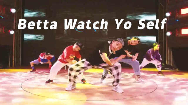 少年版《Betta Watch Yo Self》