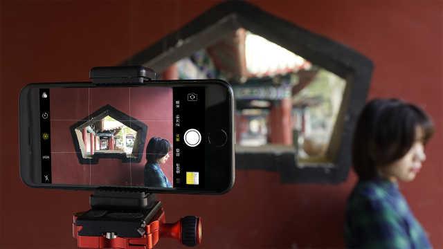 手機攝影時,用冷暖色增強吸引力