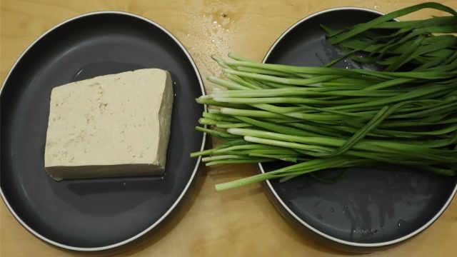 教你豆腐最独特的做法,做成早餐饼