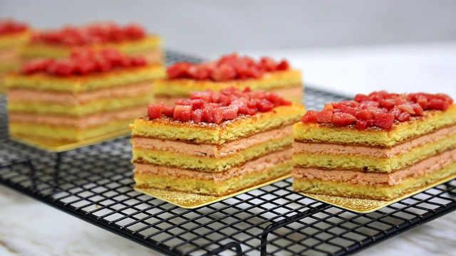 番石榴蛋糕:自带清凉的热带水果