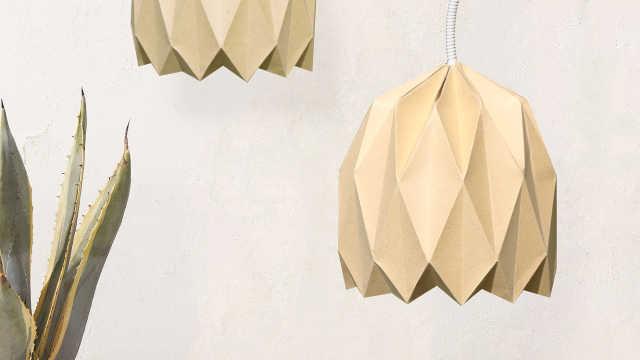 纸艺灯罩,你家里少了这份时尚!
