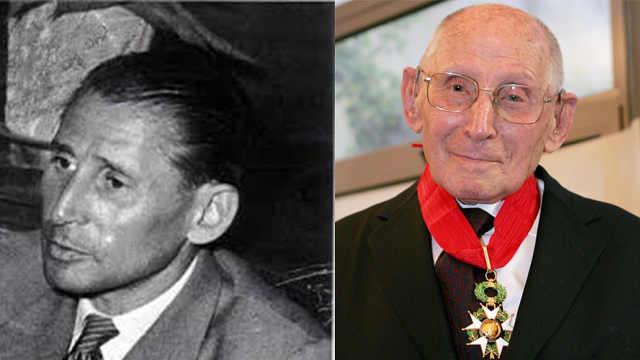 法二战英雄辞世,曾救百名犹太儿童