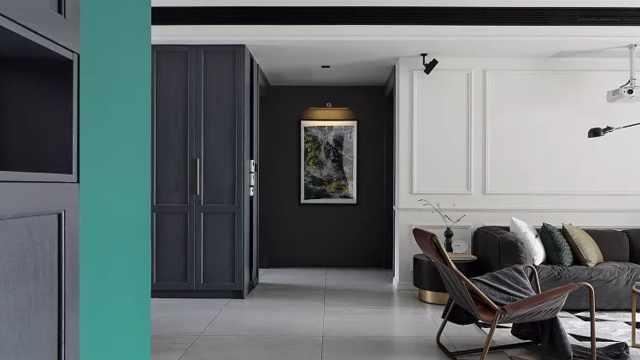 室内设计师装修自己的家,有多时髦