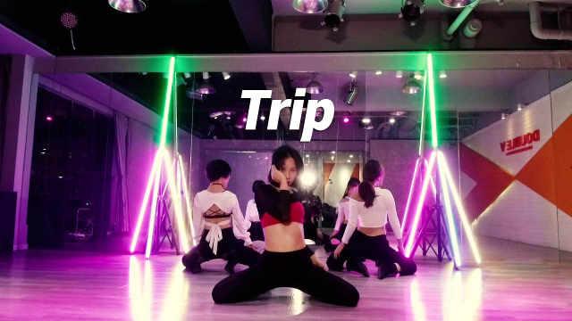 YUNA翻跳《Trip》