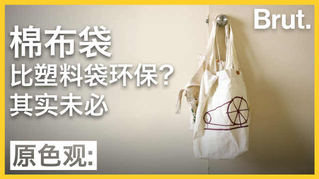 用棉布袋比用塑料袋更环保?未必!