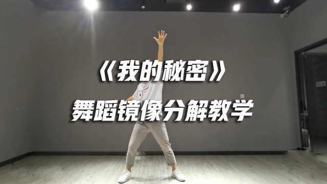 《我的秘密》舞蹈镜像分解教学
