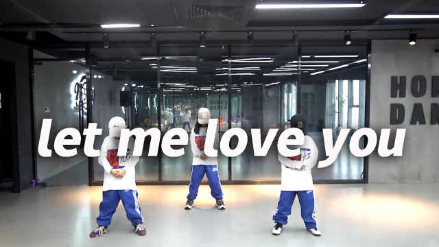 Honey少儿翻跳《let me love you》