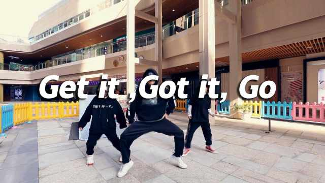 甲鱼翻跳《Get it ,Got it, Go 》