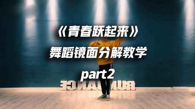 《青春跃起来》舞蹈教学part2