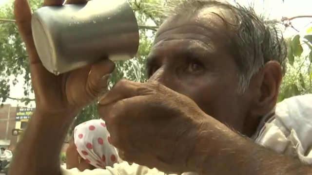 热浪袭击印度,最高气温突破50度