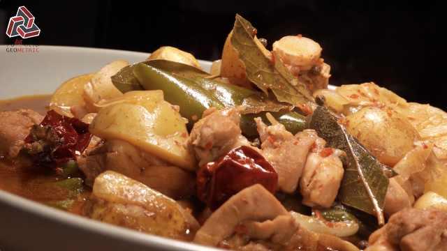 新疆大盘鸡,一道绝对有面的硬菜