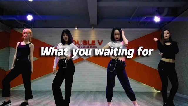 YUNA翻跳《What you waiting for》