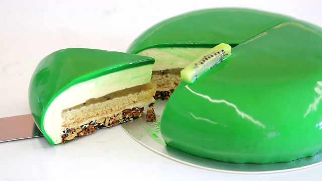 猕猴桃慕斯蛋糕:低调闪耀的绿宝石