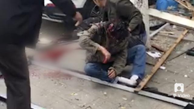 一饭庄爆炸3人被炸飞,1死5伤
