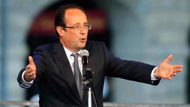 """法总统:""""法兰西永远比IS坚强"""""""