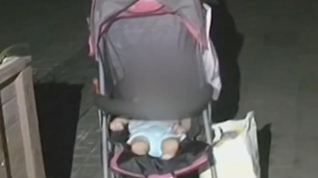 可恶!女婴被亲生父母遗弃街头