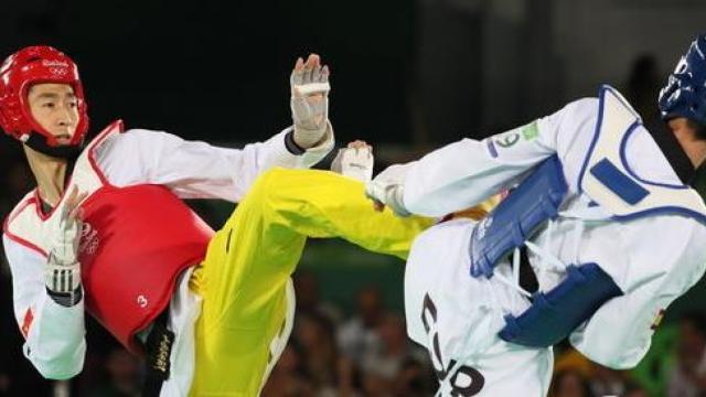 中国首个奥运跆拳道男子冠军叫赵帅