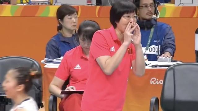 中国女排里约亮相,苦战5局惜败