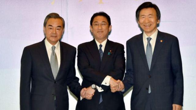 中日韩外长会谈8月24日举行