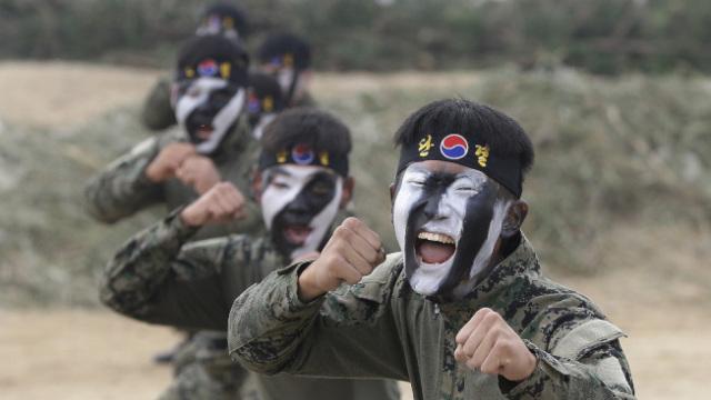 """韩军:必要时将""""毁灭平壤"""""""