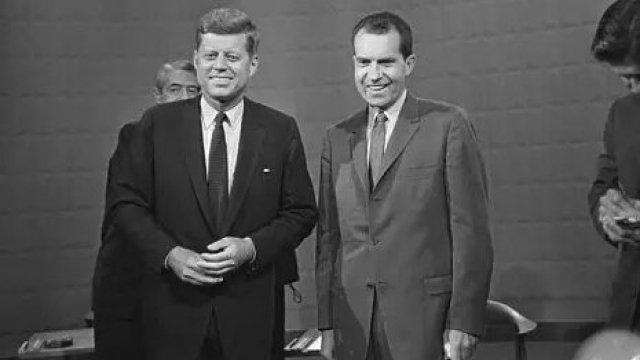 美国总统大选史上首次电视辩论