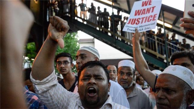 美国纽约清真教伊玛目被杀监控曝光