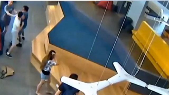 中国留学生狂殴情敌被判入狱半年