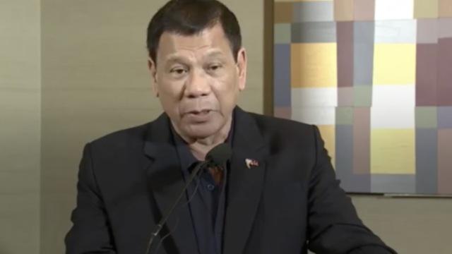 杜特尔特:中国支持菲律宾禁毒运动