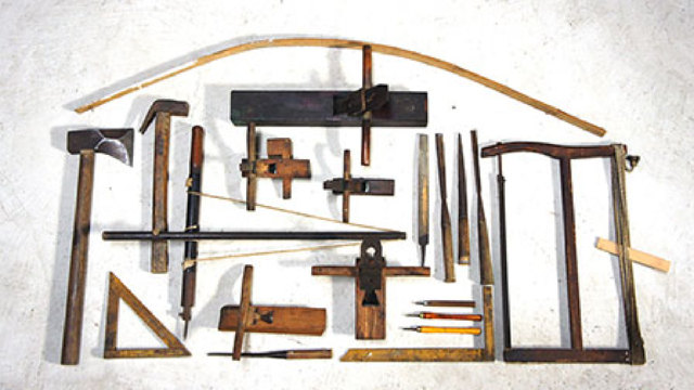用木工工具,做一个帅气的传统木工